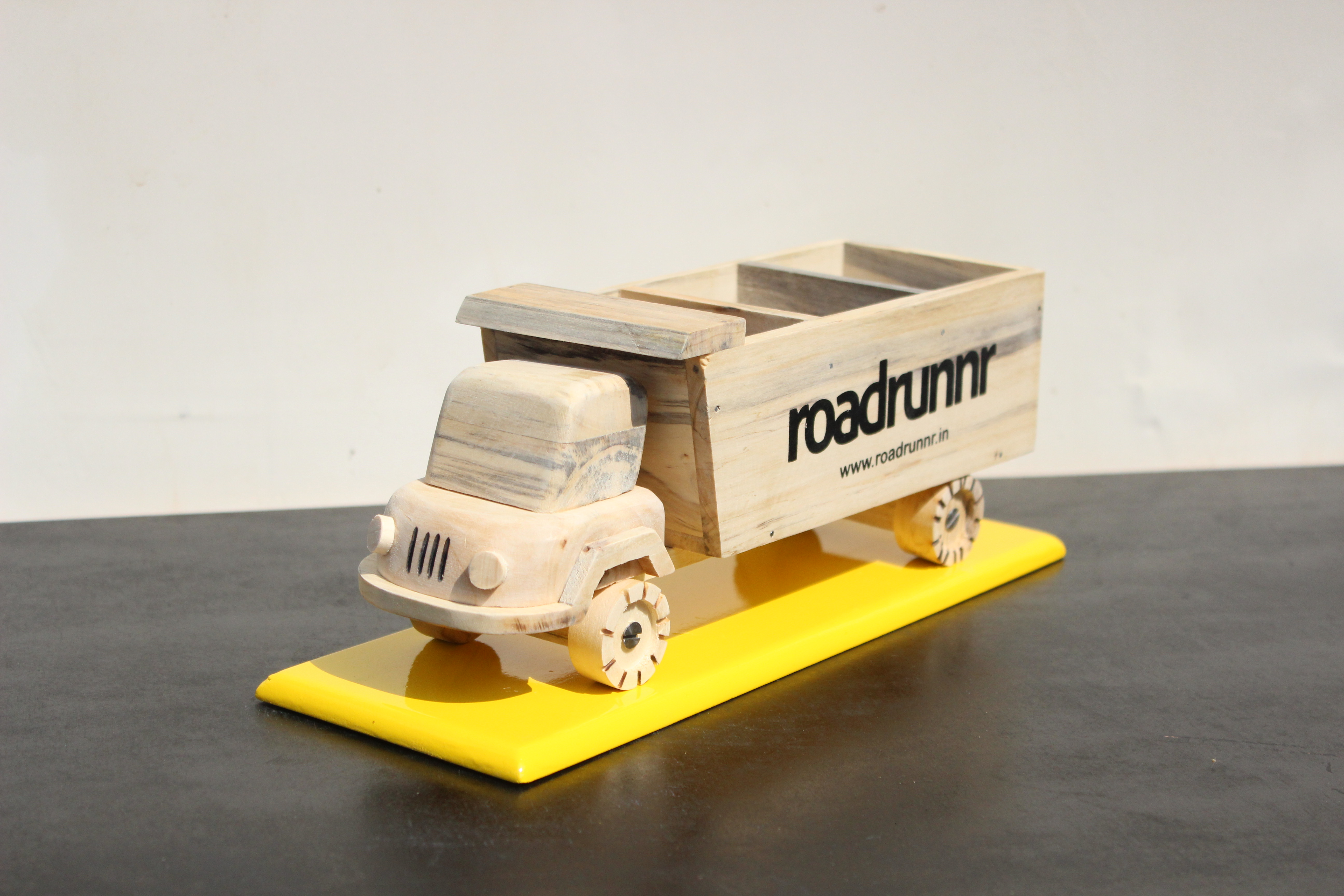 Cutomised Truck Organiser Wooden