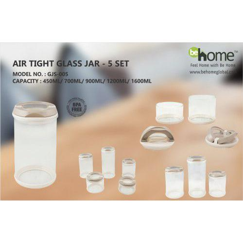 BeHome Airtight Glass Jar GJS - 005