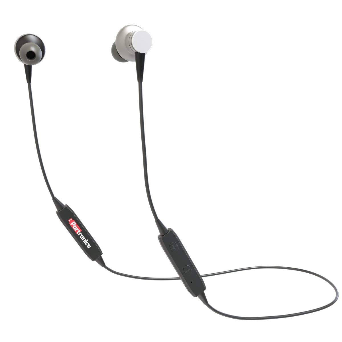 Portronics POR-794 Harmonics 204 Inline in-Ear Bluetooth Stereo Earphones with Magnetic Latch