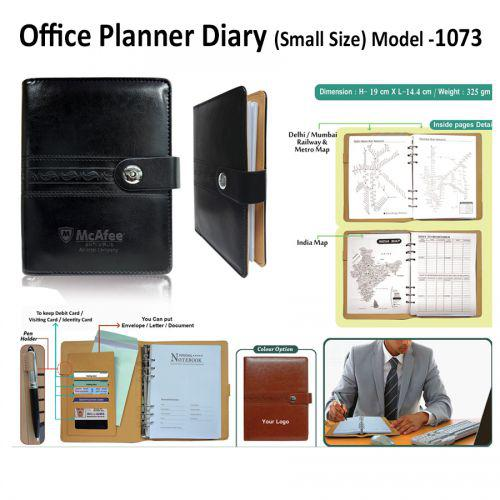 Office Planner Diary 1073 (Small Size)