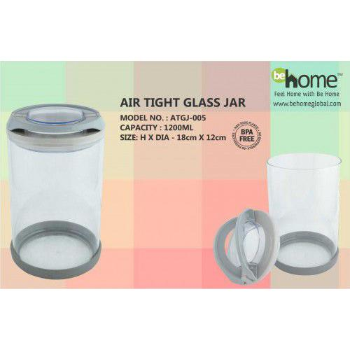 BeHome Air Tight Glass Jar ATGJ-005