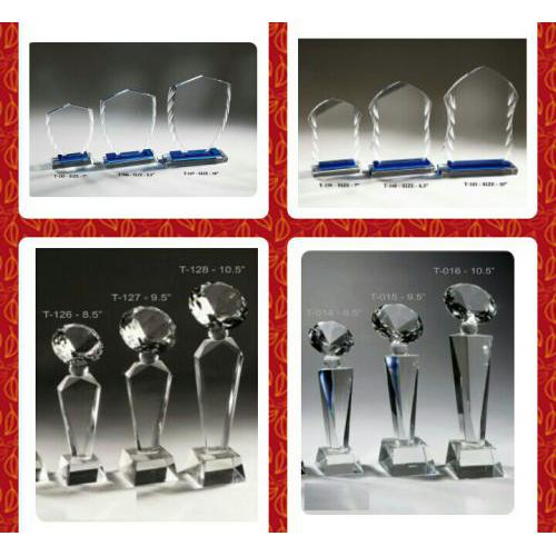 Crystal Glass Trophy A18