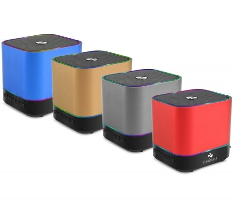 Zebronics Dice Portable Bluetooth Speakers (with Selfie Button) (Color May Vary)