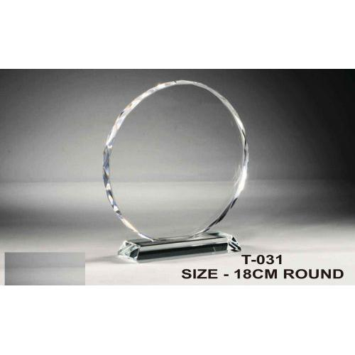 OVAL SHAPE ROUND TROPHY