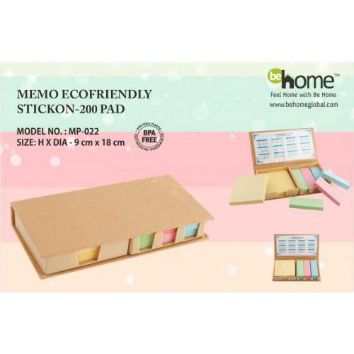 BeHome Memo Ecofriendly Stickon MP-022
