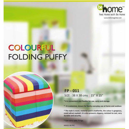 BeHome Colourful Folding Puffy FP - 011