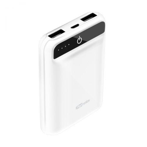 Portronics POR-720_Mino Power10050mAh Power Bank With One Input Socket and Two Output Sockets Compat