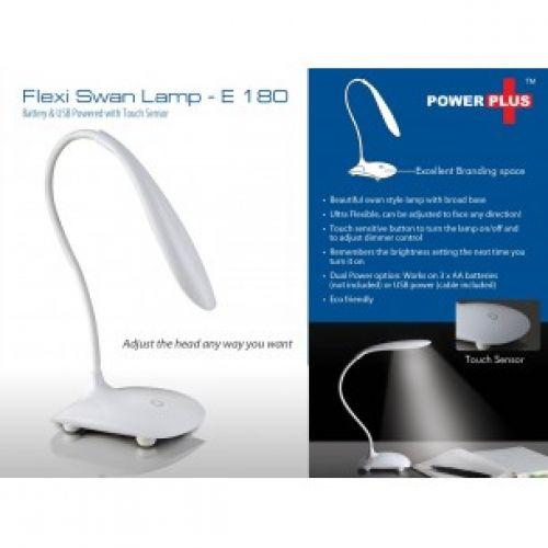 FLEXI LAMP: SWAN LAMP WITH BROAD BASE E180