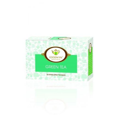 Goodwyn Pure and Premium Green Tea, 40 Tea Bags