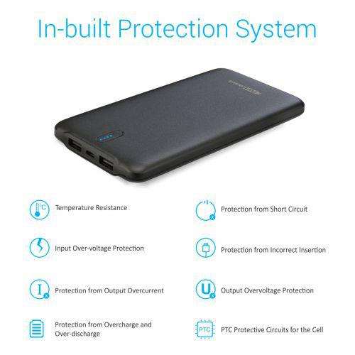 Portronics Power wallet 10 Power Bank