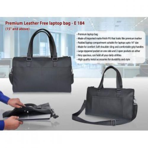 PROCTER - PREMIUM LEATHER FREE LAPTOP BAG E184