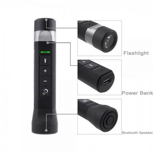 Fuzo Multifunction Power Bank, Speaker, Torch TGZ -1917