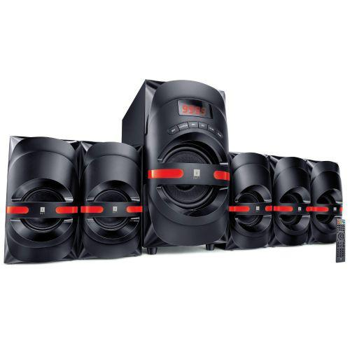 iBall Dynamite 5.1 BT Computer Multimedia Speaker (Powerful Sound, even the bass!)