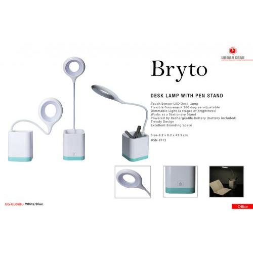 Bryto Desk lamp with Pen Stand UG-GL06