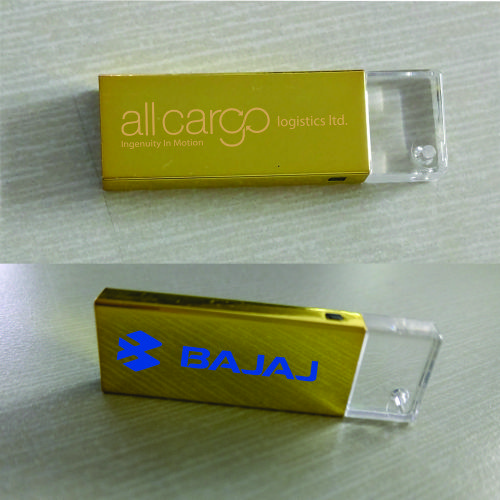 Mini Gold pen Drive