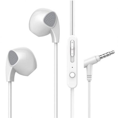 Pebble Heavy Bass Ear-Pod Design Wired Earphones with Inbuilt Mic  Zest BassBuds