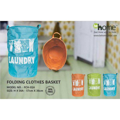 BeHome Folding Clothes Basket FCH-016