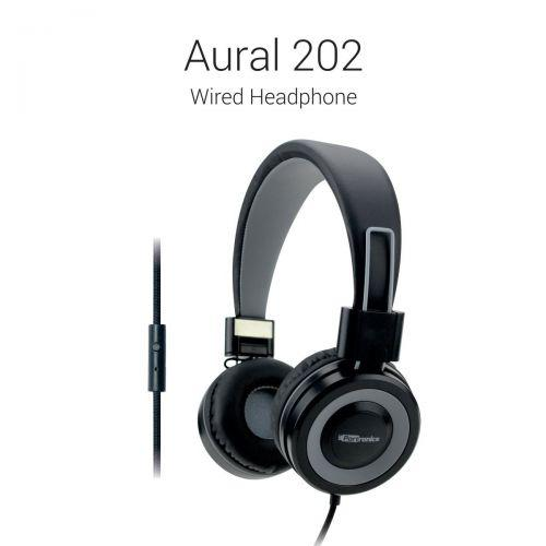 Portronics Aural 202 Wired Headphones with In-Line Mic POR 616