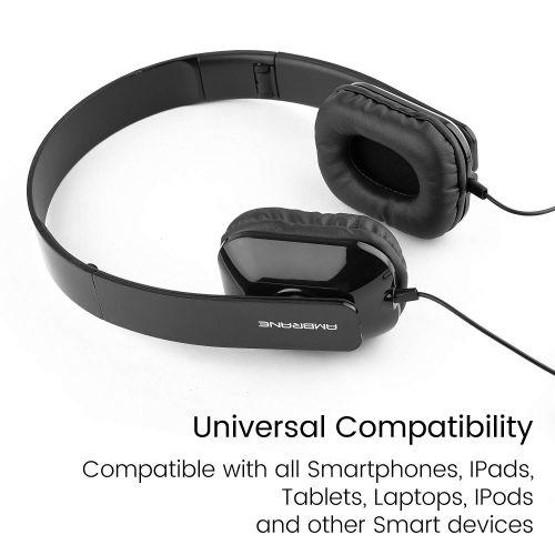 1fd7ed82202 Ambrane Ultra Comfortable Wired Headphone With Mic HP-11 in bulk for ...