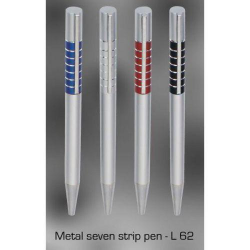 Metal 7 strip pen