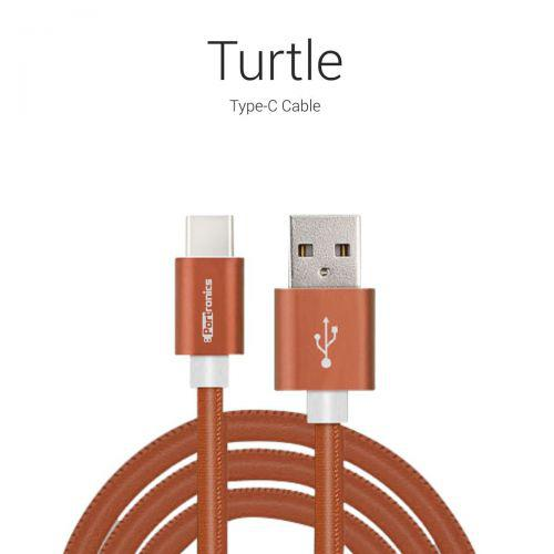 Portronics Turtle Type C Cable-Brown POR 596
