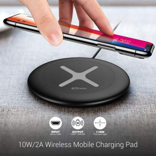 Portronics Toucharge X 10W/2A Wireless Mobile Charging Pad POR-896