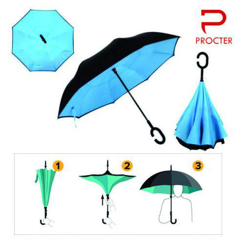Promo Reversible Umbrella - 2 layer, 8 panel