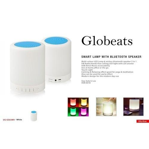 Globeats Bluetooth Speakers With Smart Lamp UG-GS03
