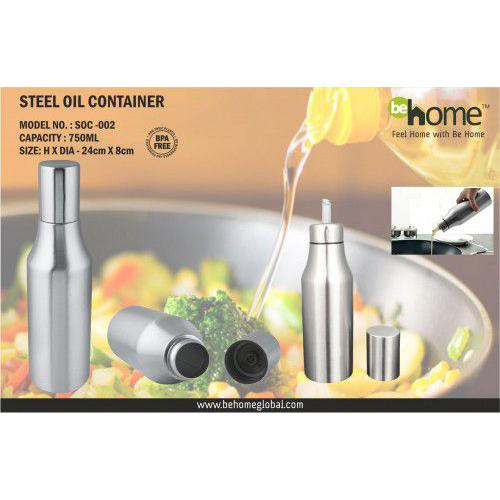 BeHome Steel Oil Container SOC - 002