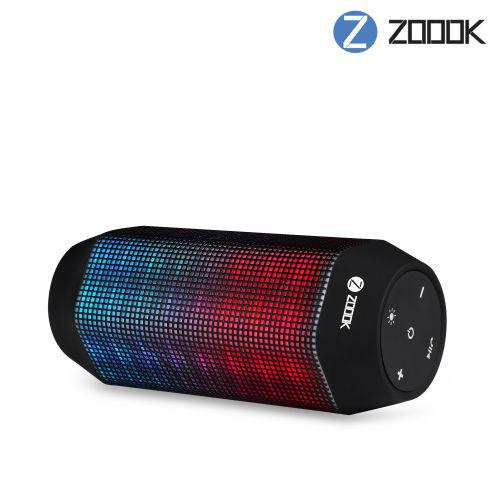 84902af97 PROCTER - Zoook Wireless Bluetooth Speaker with LED Lights   HD Sound  ZB-ROCKER2