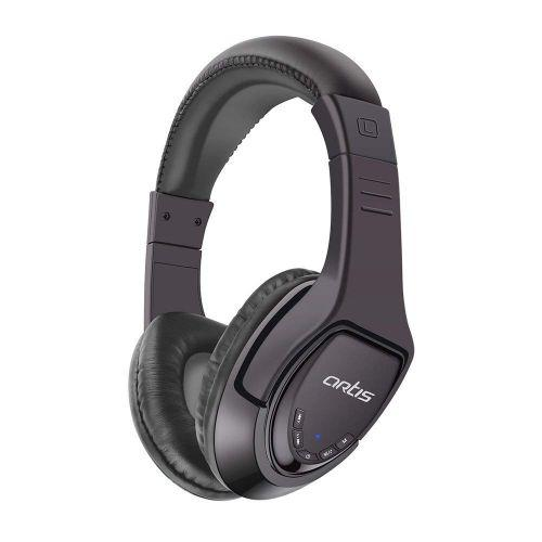 Artis BH180M Bluetooth Headphone with Mic. / FM Radio / Micro SD card Reader (Black)