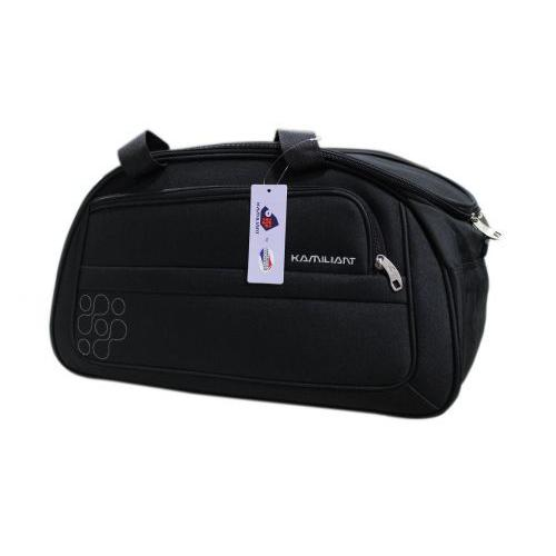 Kam Gaho Small Black Duffle Bag