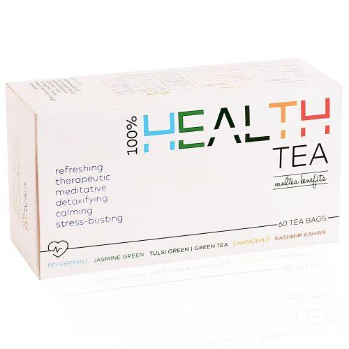 Goodwyn Health Green Tea Box, 6 Green Teas for Different Times & Moods of the Day, 60 Tea Bags