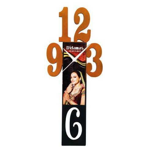 3-6-9-12 Wall Clock (Dial 175 mm X 63 mm) TB 1404