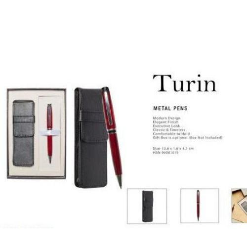 Turin (with Premium Gift Box) Metal Pens + Box UG-MP04