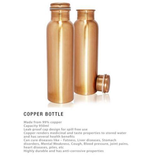 Cu-950 Copper Bottle - 950ml  UG-DB17