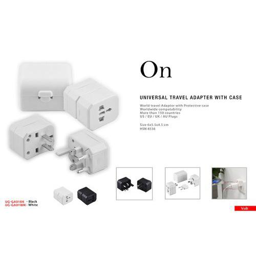 On Promotional Universal Travel Adapter with case