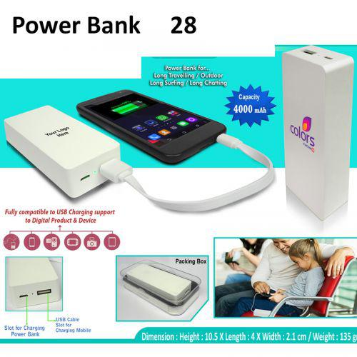 Power Bank 4000mAH-28