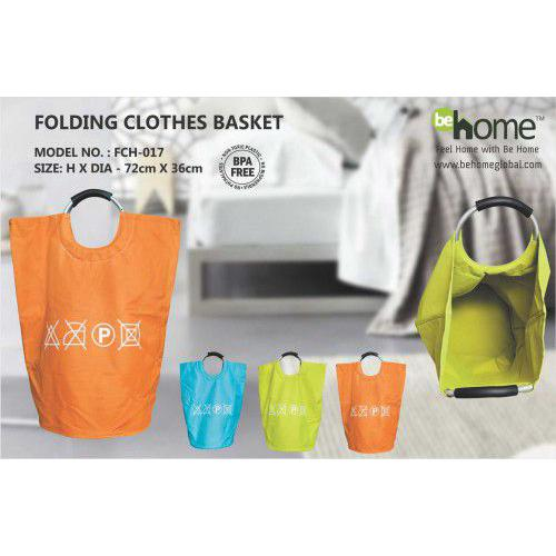 BeHome folding Clothes Basket FCH-017 Home � Home & Living � Multi Storage Boxes � folding