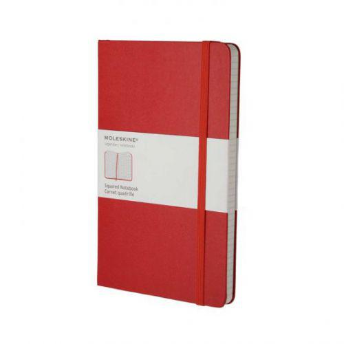 Squared Notebook - Red - Large MOLESKINE