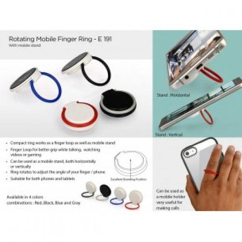 ROTATING MOBILE FINGER RING (WITH MOBILE STAND) E191