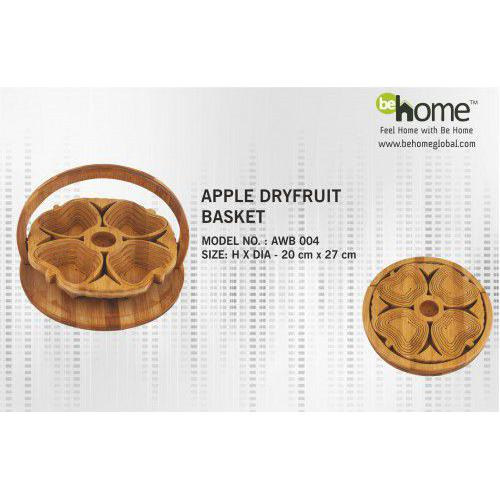 BeHome Apple Dryfruits Basket AWB - 004