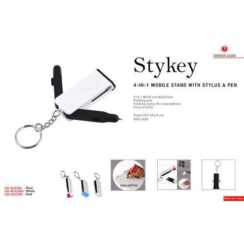 Stykey 4-in-1 Mobile Stand with Stylus & Pen UG-KC02
