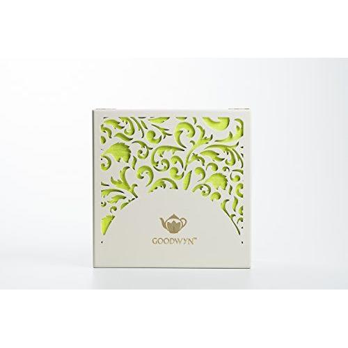 GOODWYN ALLURING LASER CUT CHEST, 90 TEA BAGS-DELICATE FILIGREE EXCLUSIVE GIFT BOX