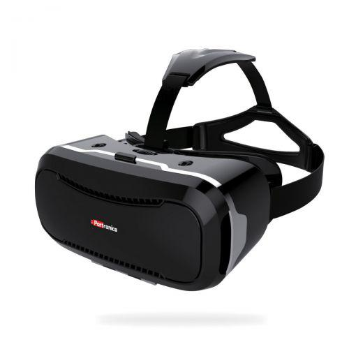 Portronics POR-714 Saga VR Box Virtual Reality Headsets with ultra - superior quality polished HD op