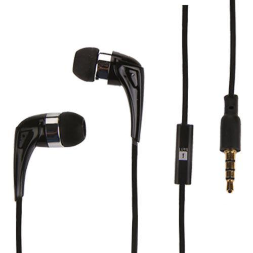 iBall Spark A6 Wired In Ear Earphone With MIC - Black