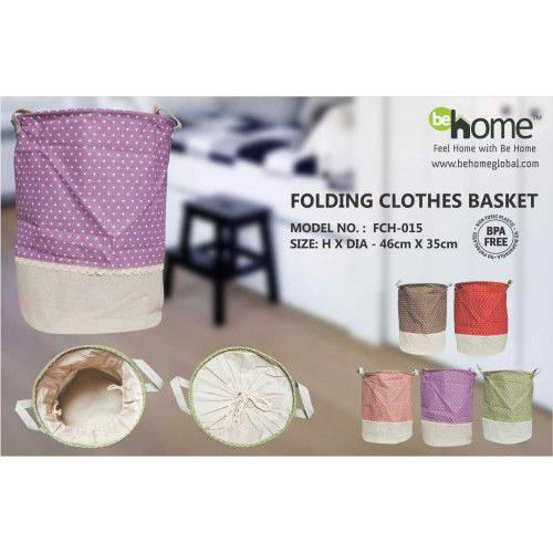BeHome Folding Clothes Basket FCH-015
