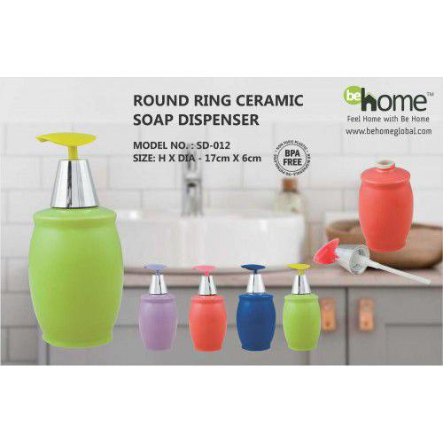 BeHome Round Ring Ceramic Soap Dispenser SD-012