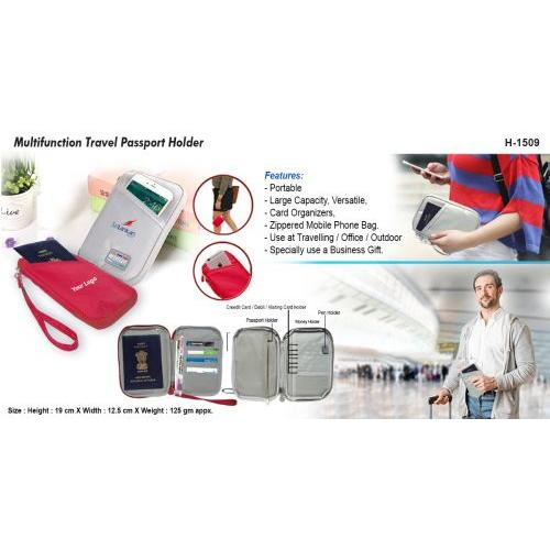 Multifunctional Passport Holder H-1509