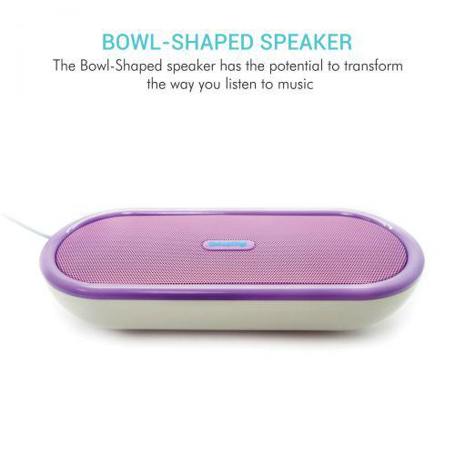 Portronics Sound Bowl Speaker (Purple)